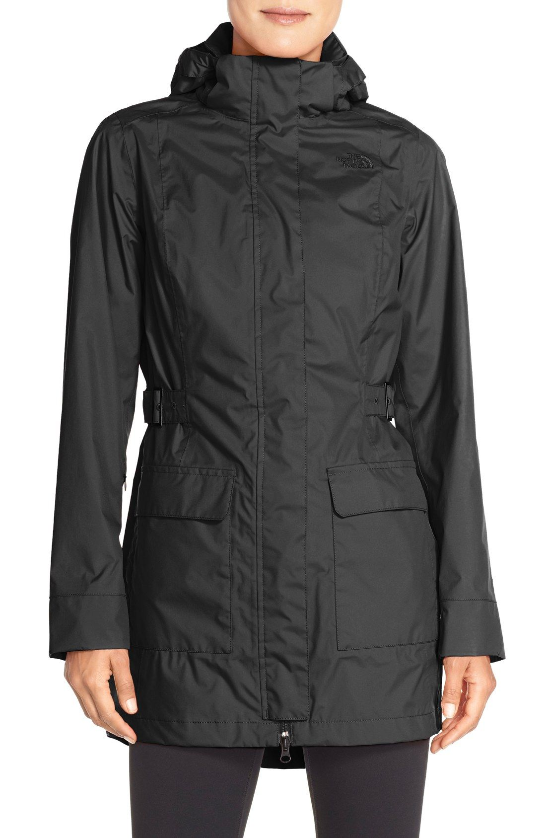 The North Face 'Tomales Bay' Waterproof Hooded Jacket