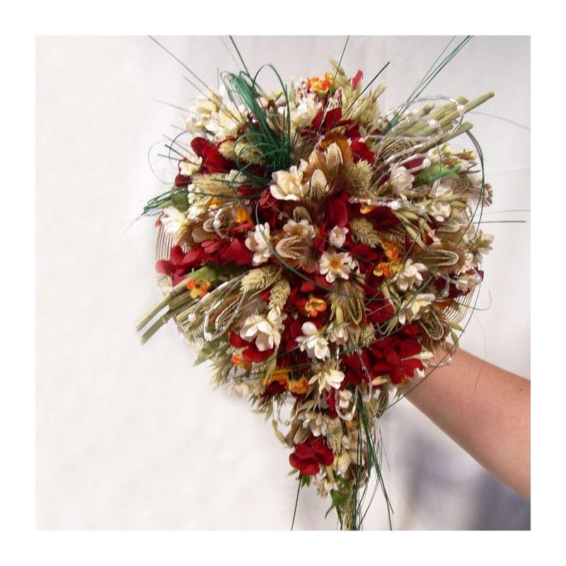 Ramo de Novia Flor Seca Otoño, ramos de flores secas, ramos de novia - flores secas