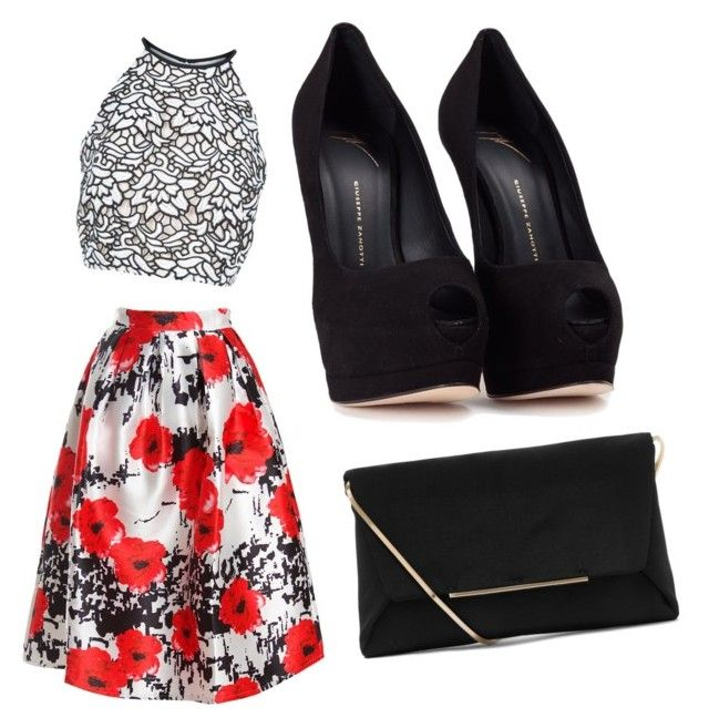 """""""Csc"""" by nymstyle0 on Polyvore featuring Keepsake the Label, Sans Souci, Giuseppe Zanotti and Lanvin"""