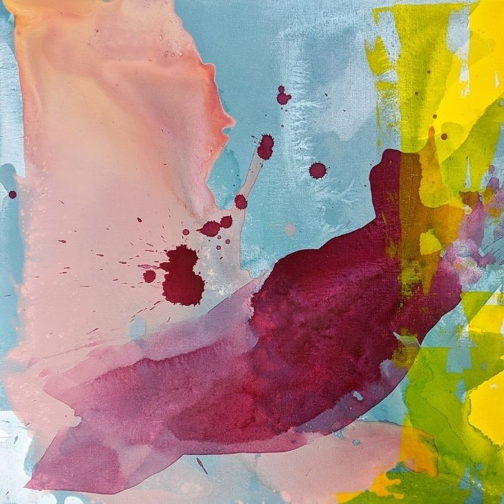 Original Emily Quandahl painting #emilyquandahlart #emilyquandahl #abstractart #interiordesign #modernart #painting #contemporarydesign #contemporaryart