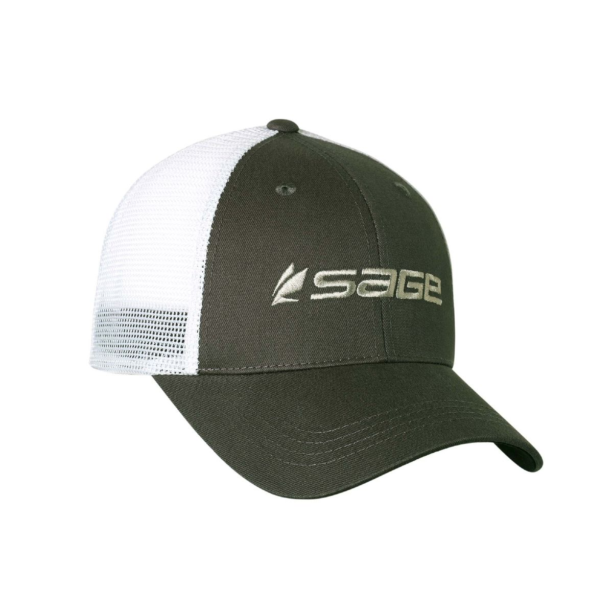 Sage Fly Fishing Mesh Back Trucker Cap Hat