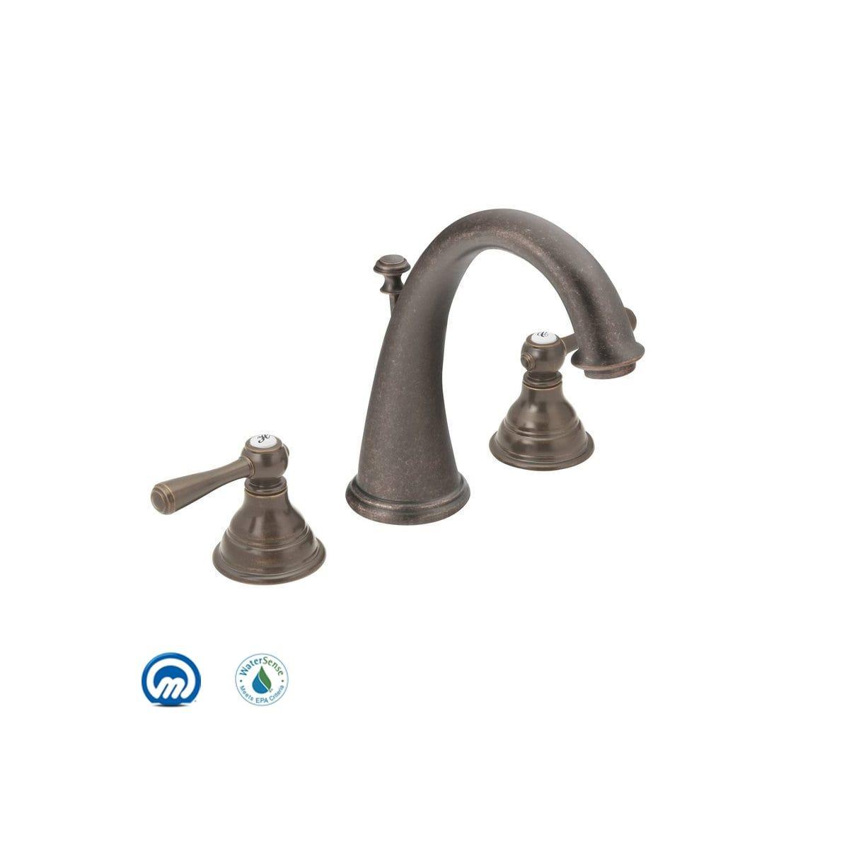 Moen T6125az Kingsley Double Handle Widespread Build Com Widespread Bathroom Faucet Bathroom Faucets Moen [ 1200 x 1200 Pixel ]