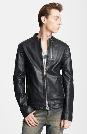 Blk Dnm Leather Jacket 5 Leather Moto Jacket Zadig Et Voltaire Zadig
