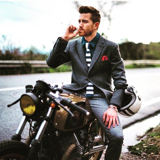 Great Style By Nohow Blogfellas Fashion Caferacer