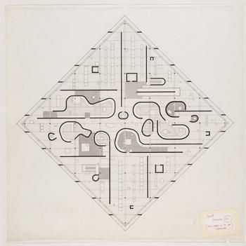Best floor plan website ever john hejduk diamond for Best floor plan ever