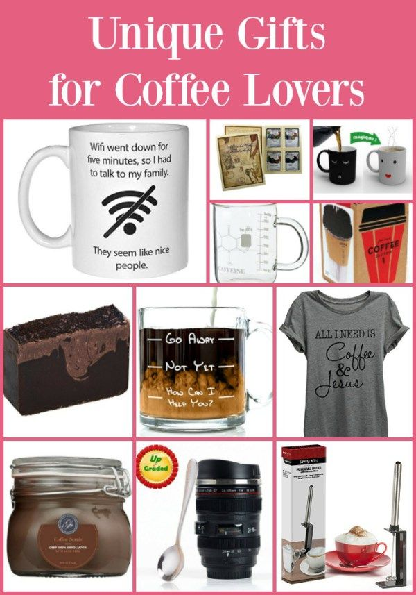 Unique Gifts For Coffee Lovers Lover Great Christmas