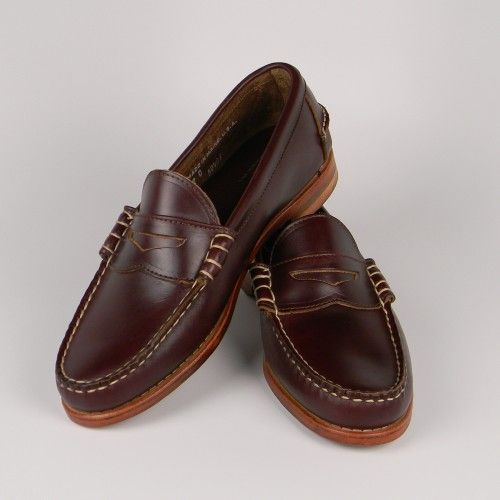 Beefroll Penny Loafers  Penny Loafers  Loafers  Men's is part of Penny loafers - The Beefroll Penny Loafer is our iconic shoe  Cut from unlined Horween Chromexcel it doesn't get any more Uniquely American than this  Chromexcel is the flagship leather from the iconic Horween Tannery