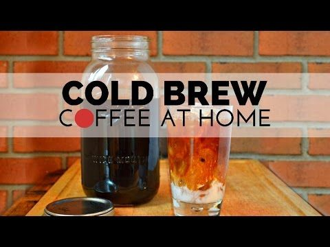 EASY HOMEMADE COLD BREW COFFEE – Mad in Crafts | Yummmm ...