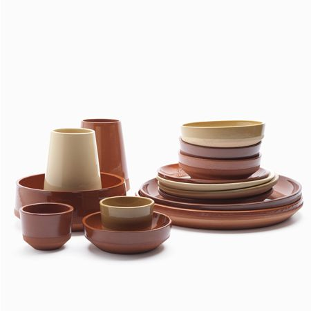 Atelier NL for Roayl Tichelaar Makkum (clay dug form different areas of the Netherlands)  sc 1 st  Pinterest & Atelier NL for Roayl Tichelaar Makkum (clay dug form different areas ...