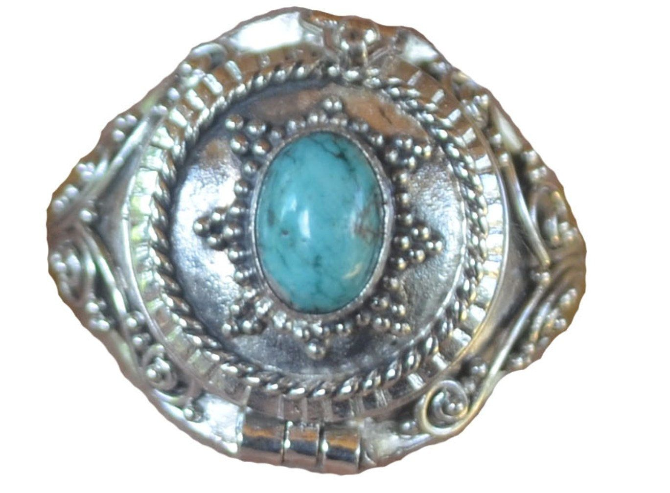 30mm L Light Blue// Teal Triple Flower Crystal Floral Brooch In Gold Tone Metal