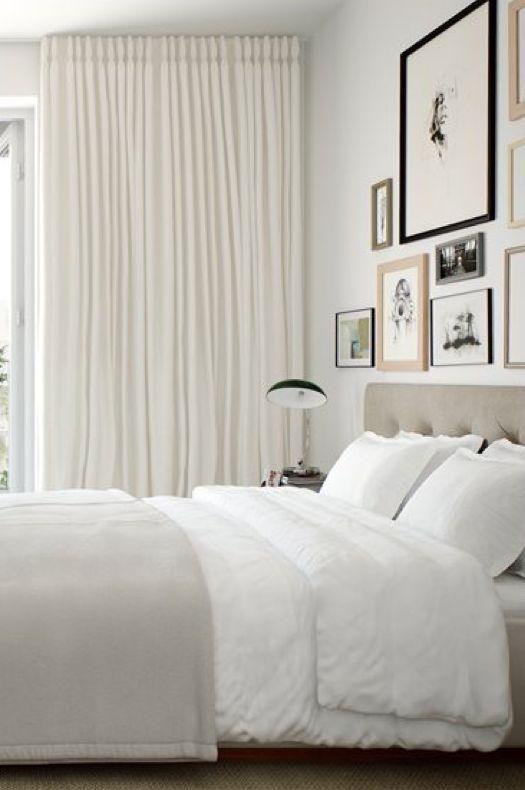 Clean Simple Elegant Bedroom