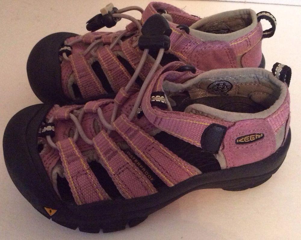 Keen Sandals 10 Toddler Girl Pink Athletic Sport Summer Shoes  KEEN  Sandals