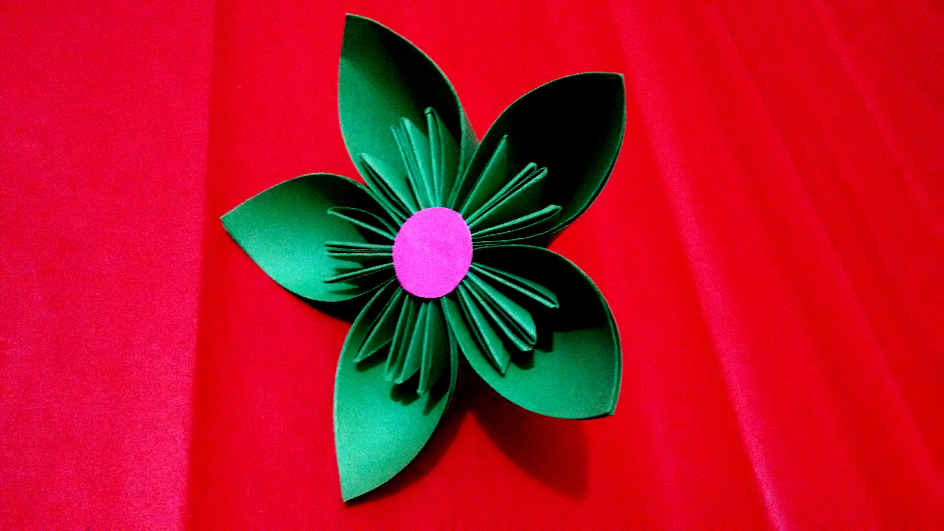 Learn Here How To Make Origami Kusudama Flower In Some Easy Steps