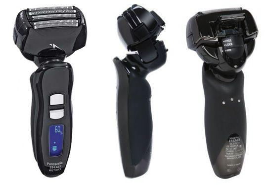 Panasonic ES-LA93-K Arc IV Shaver - Front, Back and Side View