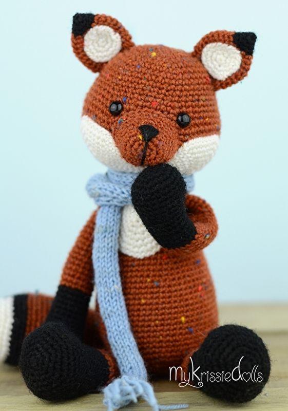Vosje Victor Haken Baby Crochet Crochet Patterns En Crochet Fox