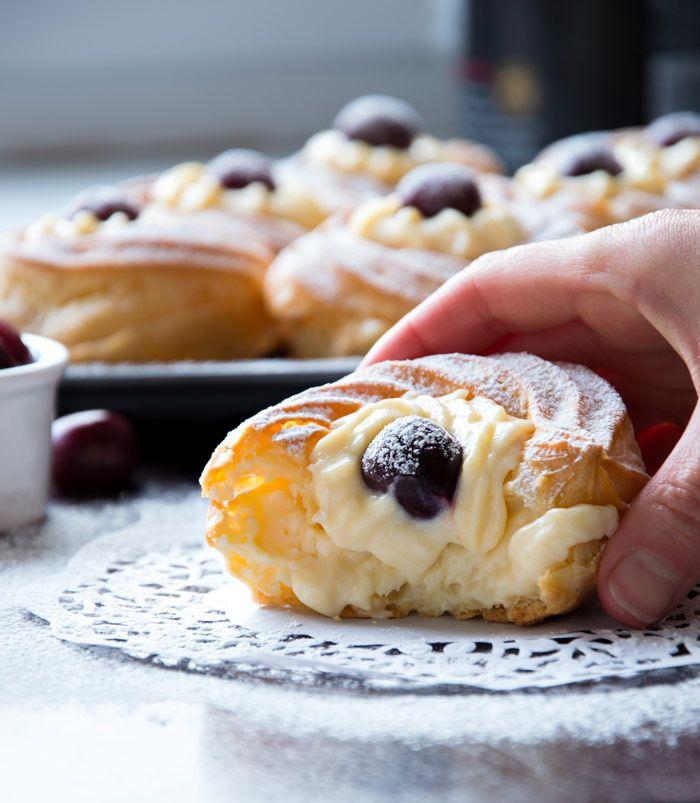 St.Joseph's Pastries {Zeppole di San Giuseppe}