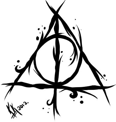 Deathly Hallows Symbol Harry Potter Tattoo Tattoo Ideas