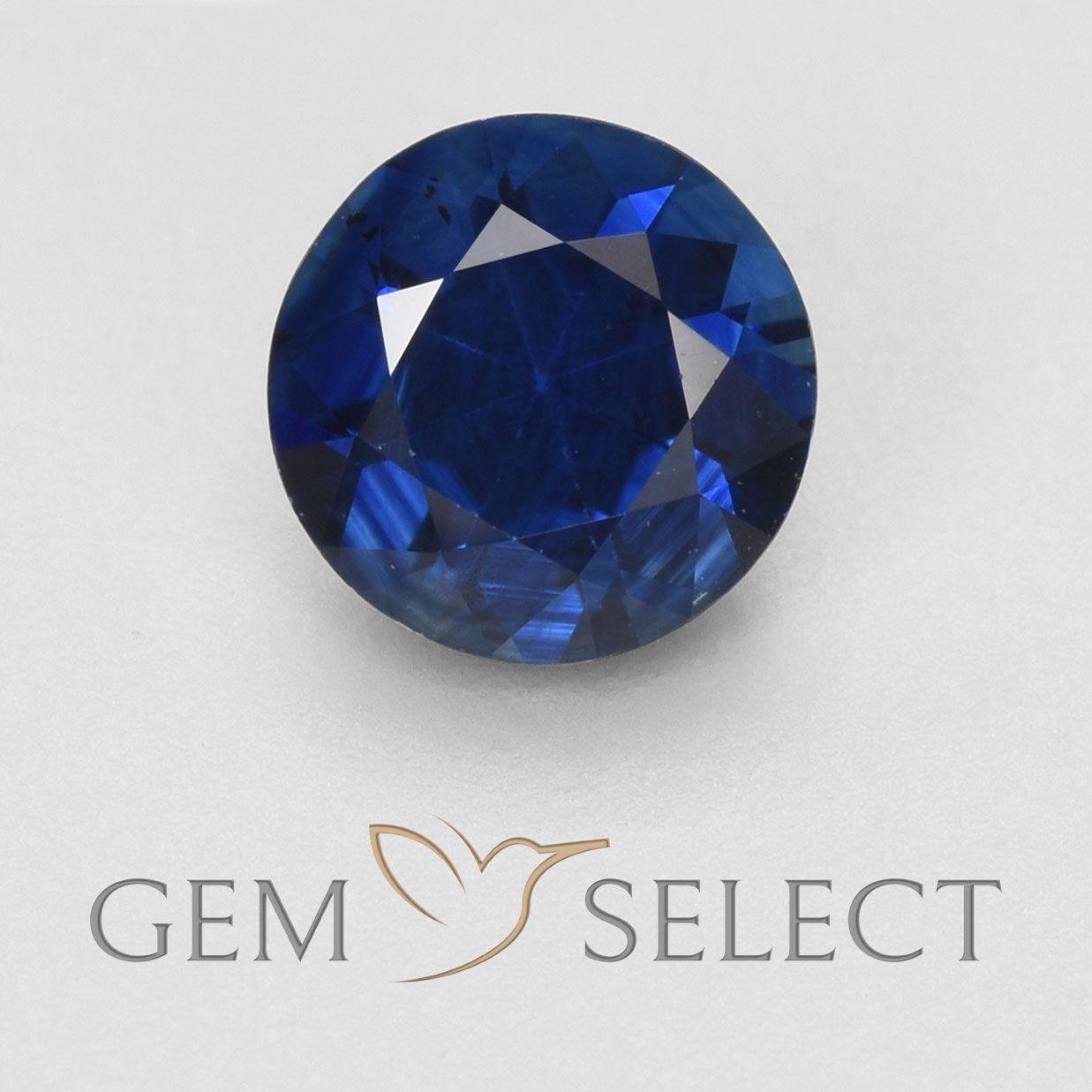 0 57 Ct Twilight Blue Sapphire