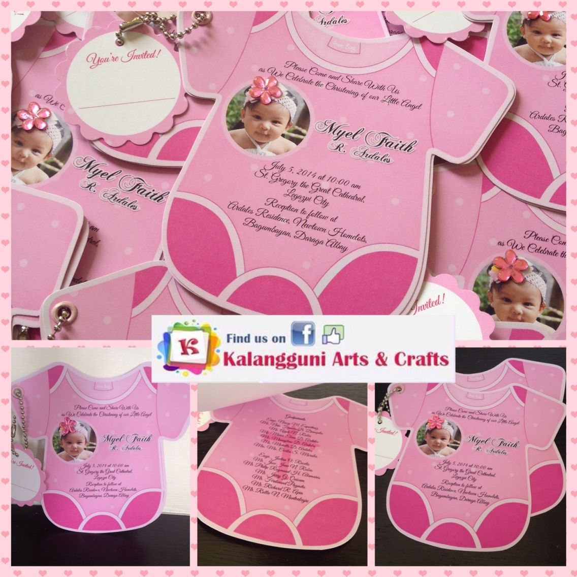 Onesies Invites For more details visit