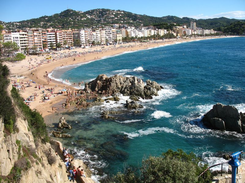Lloret De Mar Spain If You Have A Week Or Two Barcelona Right