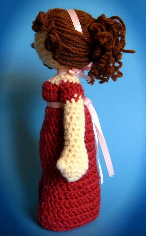 Jane Austen Inspired Regency Doll | Pinterest | Jane austen, Crochet ...