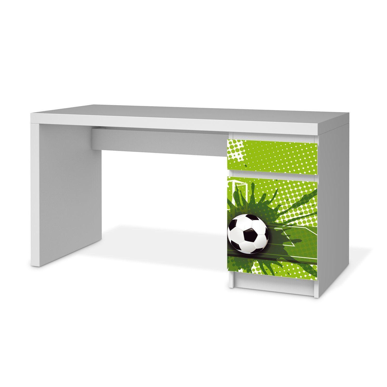 Wohnideen Ikea Möbel fußballzimmer soccer room möbel aufkleber folie für ikea malm