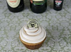 Guiness Cupcakes