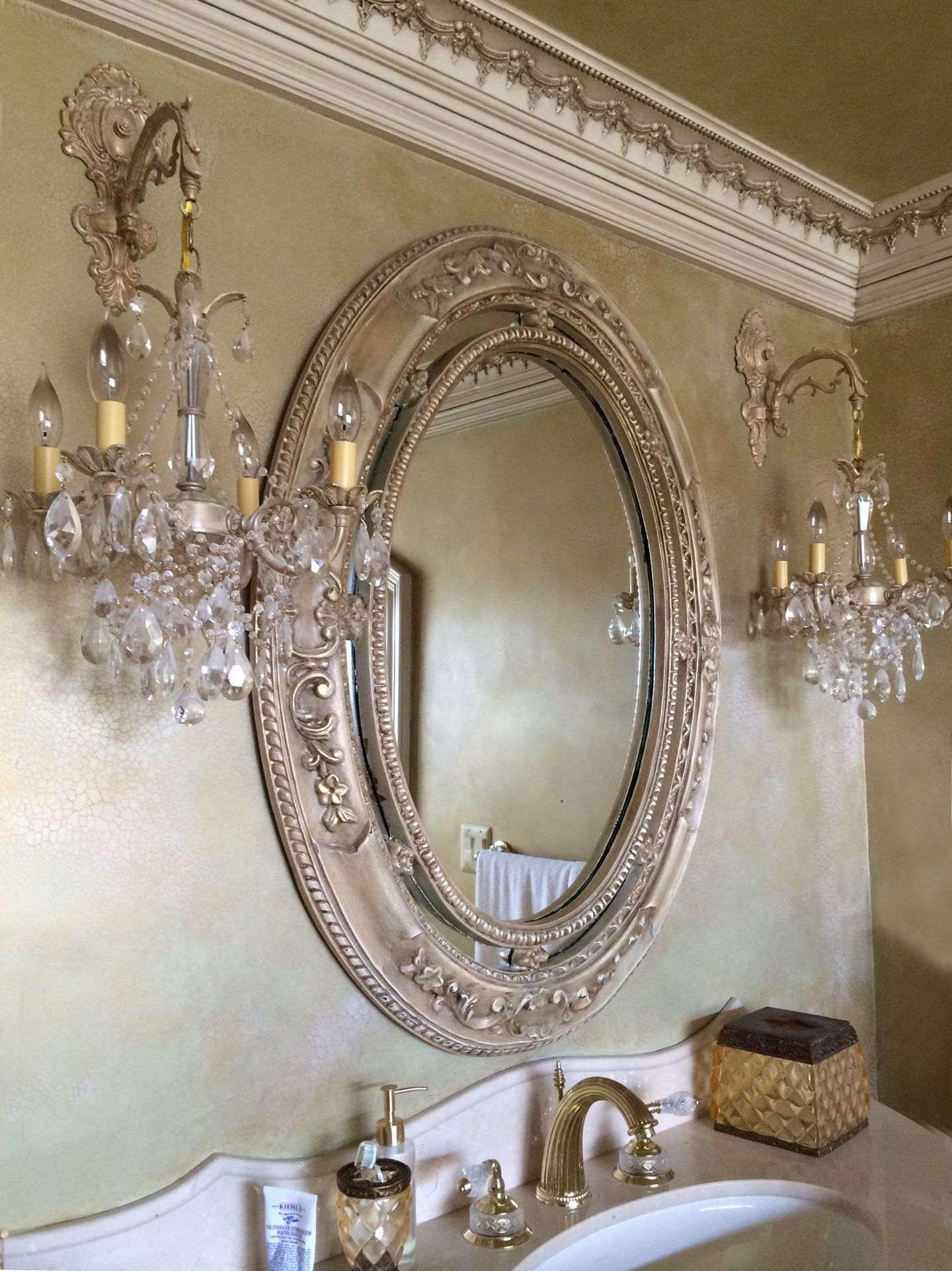 gorgeous bathroom chandelier wall sconces custom made by i on wall sconces id=95378
