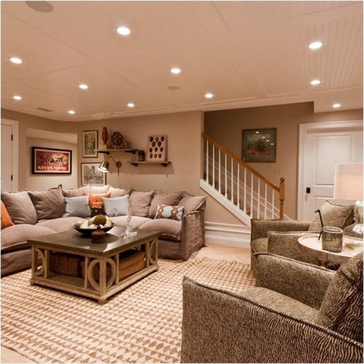 Modern Furniture 2014 Clever Furniture Arrangement Tips: 5 Ultimate Clever Ideas: Bright Basement Unfinished