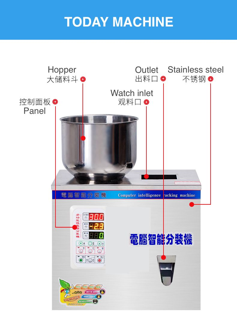 Pin By Paige Wu On Filling Weighing Dosing Machine Packing Machine Table Top Machine