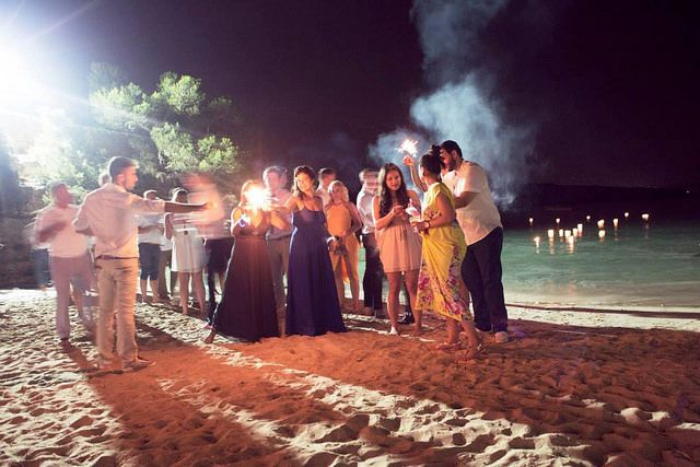 El Chiringuito Cala Gracioneta: Bohemian wedding chic