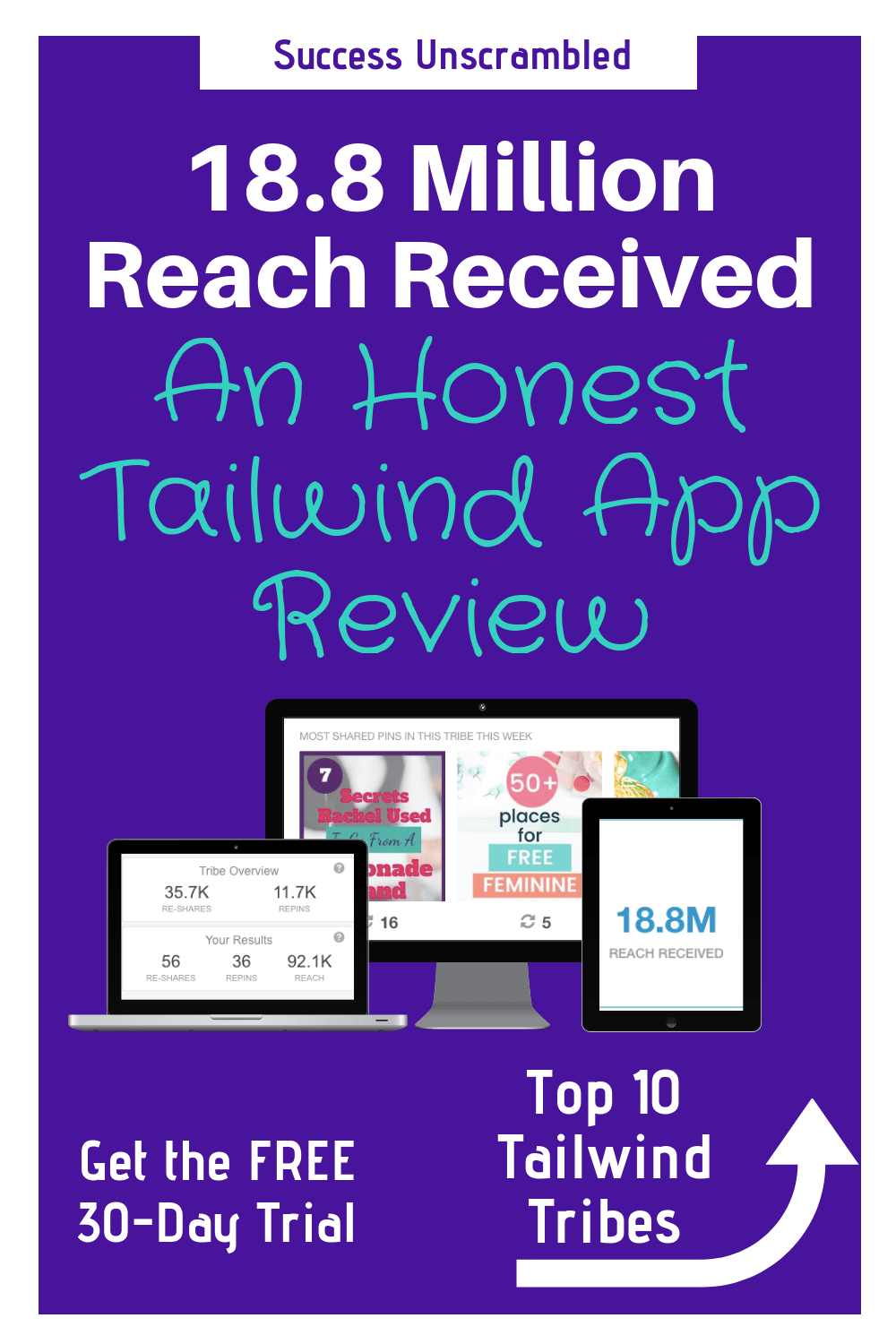 71.7 Million Reach Received An Honest Tailwind App Review