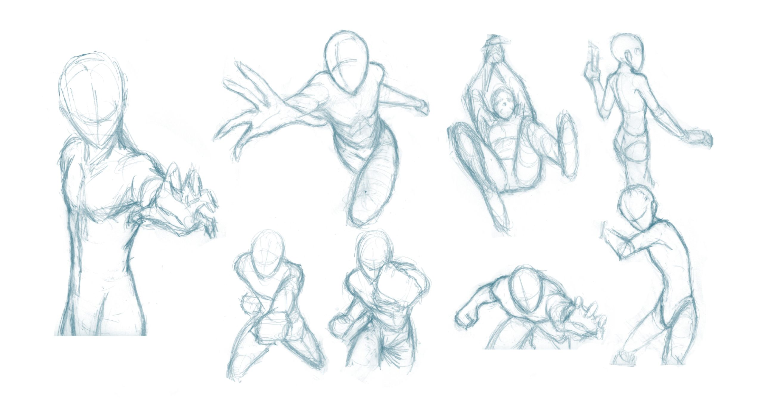 Pose Studies 8 References from Robert Marzullo by