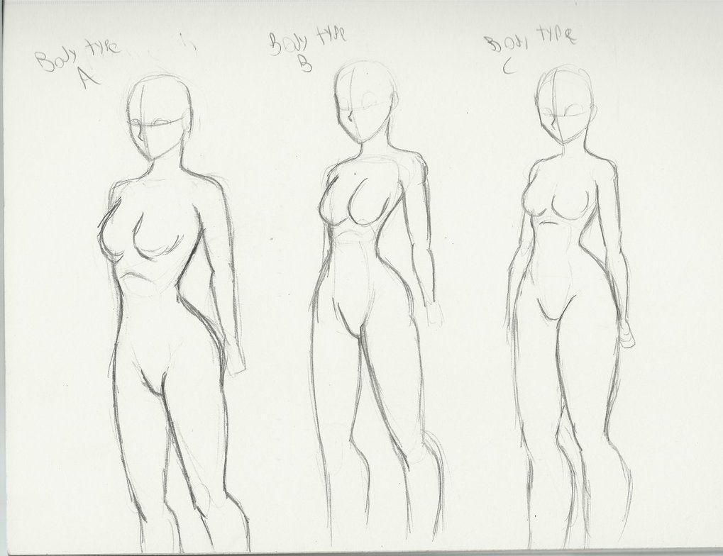 Body Types And There Info Type A Acurate A Realistic Portioned Body Type Though Still Has Anime Ish Qual Body Types Women Body Type Drawing Body Shape Sketch