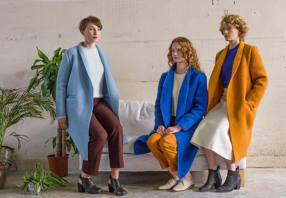 Moda eco: ropa hecha con cortinas y mantas reutilizadas