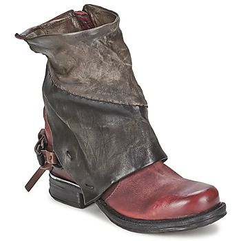 AIRSTEP / A.S.98 - Chaussures, Sacs AIRSTEP / A.S.98. Womens Biker BootsHot  ShoesLeather ...