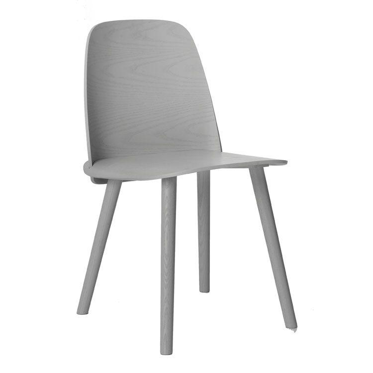 Nerd Tuoli, harmaa ryhmässä Huonekalut / Tuolit / Tuolit @ ROOM21.fi (123311)