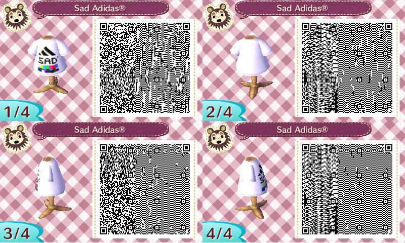 A Few Vaporwave Qr Codes I Made Animal Crossing Qr Qr Code