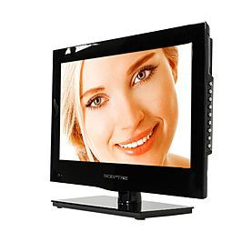 "Sceptre 16"" Class 720p 60Hz LED HDTV with Built-in DVD player - E165BD-HD 175/117"
