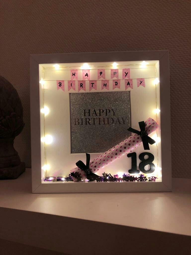 Geschenk 18 Geburtstag Mädchen