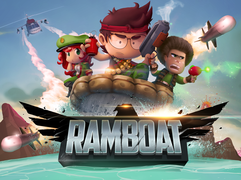 Ramboat Free android games, Shooter game, Ios games