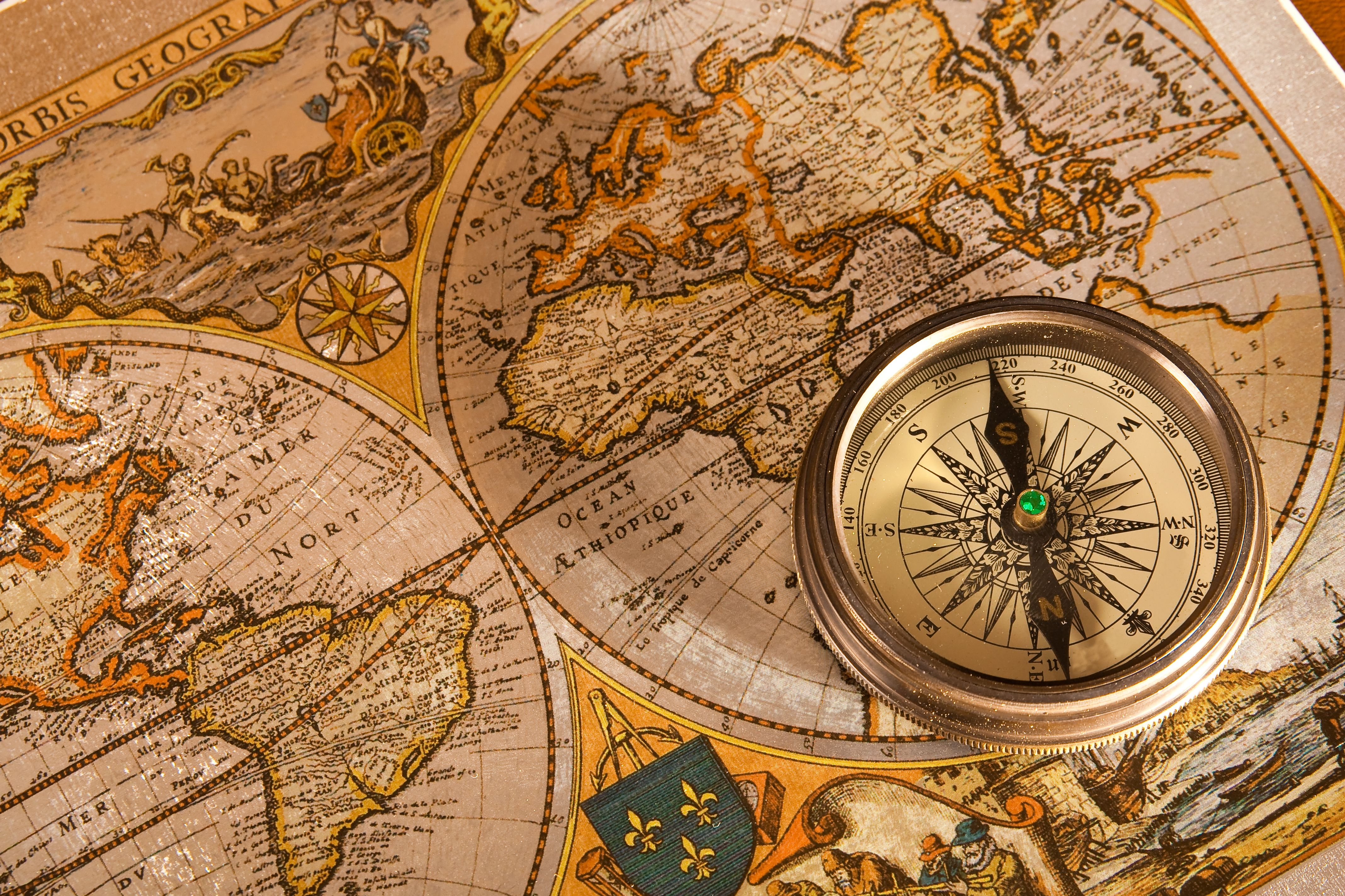 Bigstock Old Map And Compass Concepts 6133078 Jpg 4272 2848 Map Compass Old Map Vintage Compass