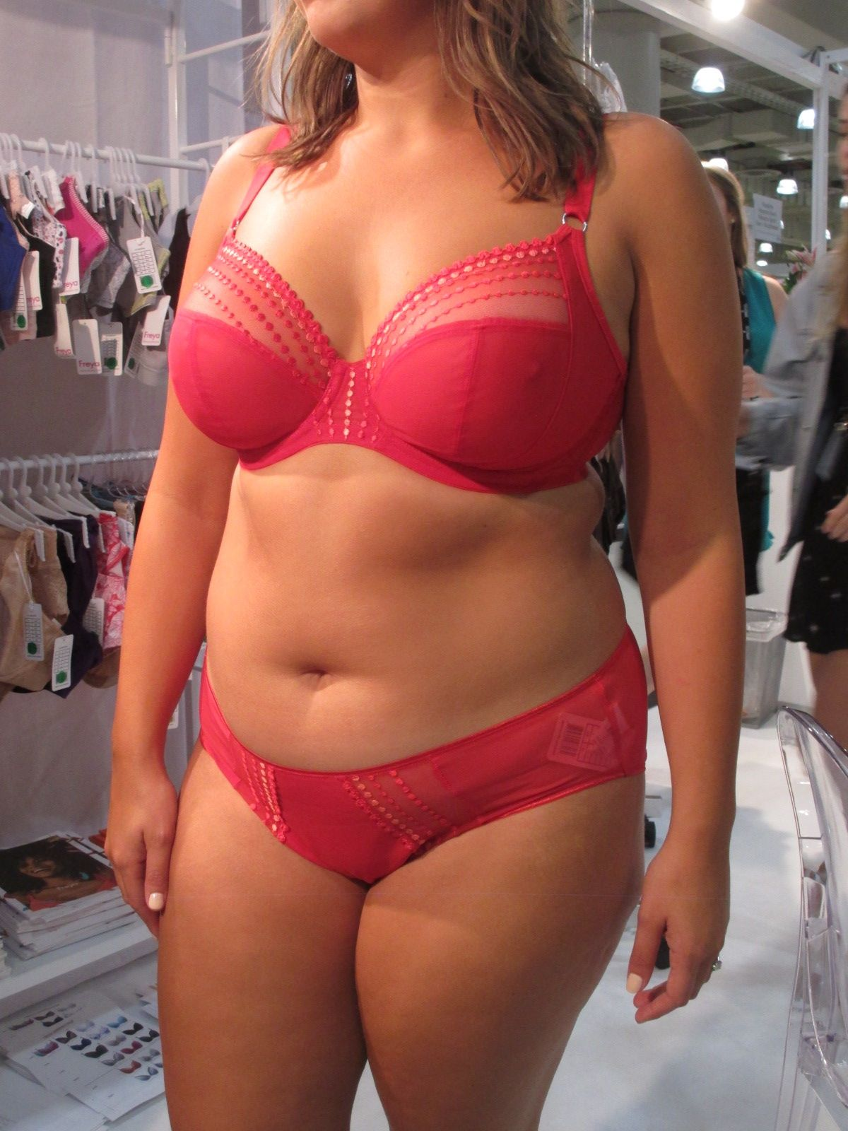f534c92af78 From Curve Expo  new Elomi Matilda Plunge Bra Colors!