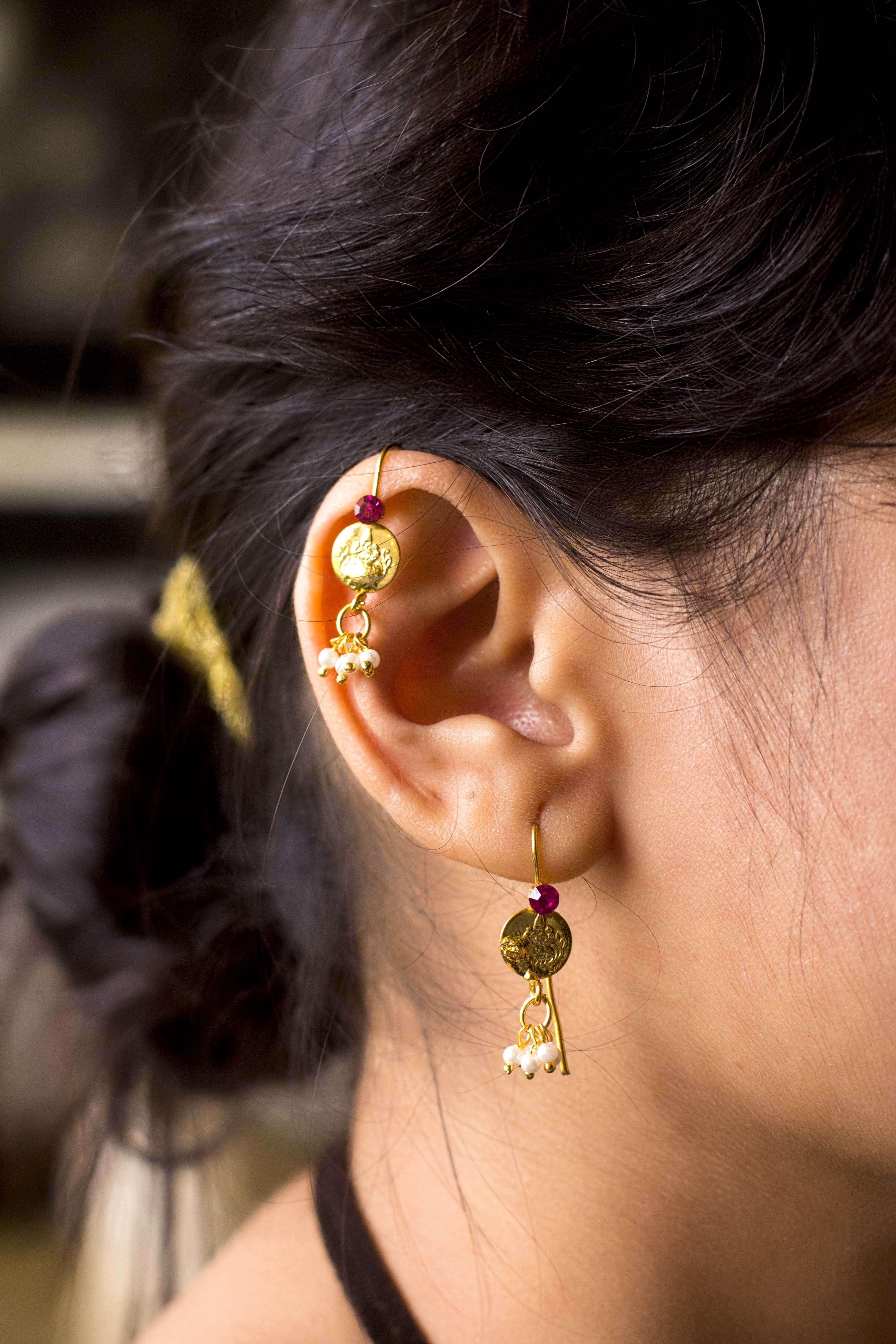Ear bugadi in wire   Jewels of Maharashtra   Pinterest   Indian ...