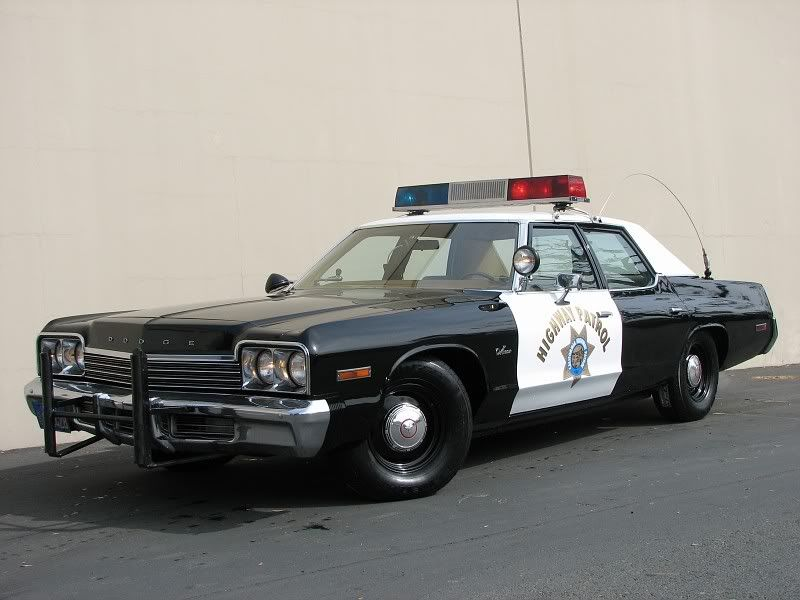 1974 Dodge Police Cars Ing Monaco New York