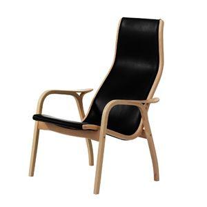 CASANOVA Møbler — Swedese - Lamino Stol - bøg m. sort læder