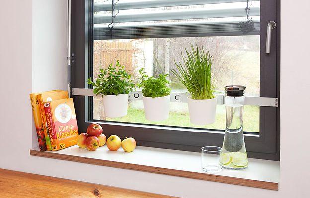 Krauterregal Furs Kuchenfenster Kuche Pinterest Kuche Garten