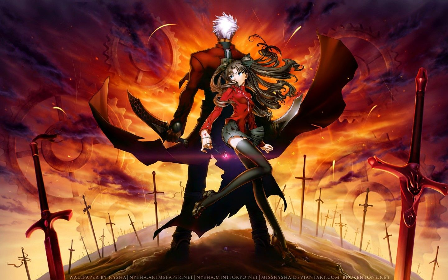 Fate Stay Night Wallpaper Fate Stay Night Anime Anime Canvas