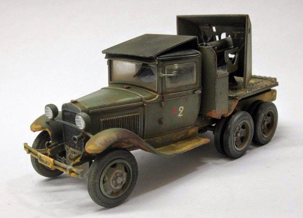 SU 1-12 SPG - GAZ-AAA Truck with 76mm gun
