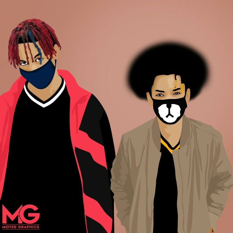 Ayo & Teo Cartoon Artwork
